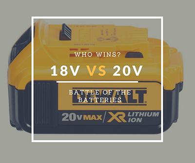 18v vs 20v batería - que es mejor para su taladro inalámbrico?