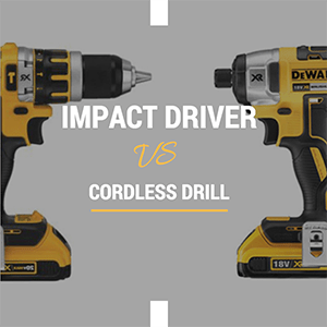 Controlador de impacto vs taladro - ¿qué elegir?