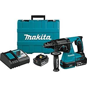 makita 18v martillo rotativo paquetes de un golpe impresionante y es muy asequible por el valor que obtiene